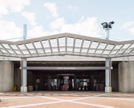 metro station in silver spring maryland near thayer and spring apartments