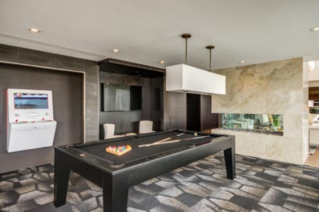 resident lounge billiards at thayer and spring in silver spring