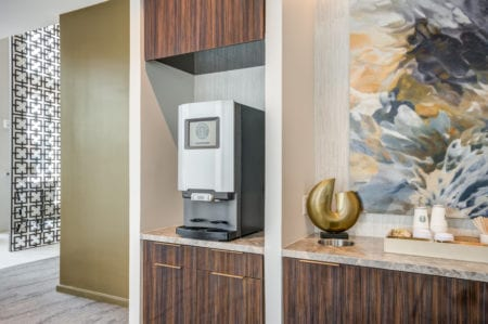 community coffee machine at thayer & spring silver springs apartments