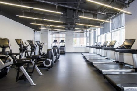 fort greene apartment amenities gym bikes 80 dklb