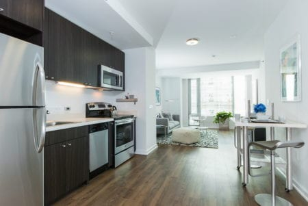 mosso luxury apartment kitchen soma san francisco