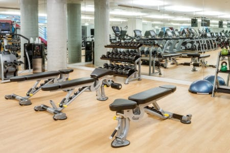 mosso gym amenities apartments in soma san francisco