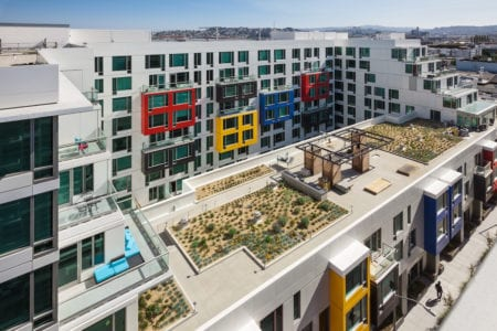 mosso rooftop terrace outdoor amenities in san francisco apartments